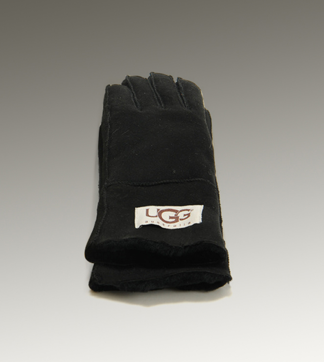 UGG Turn Cuff 6740 Black Glove